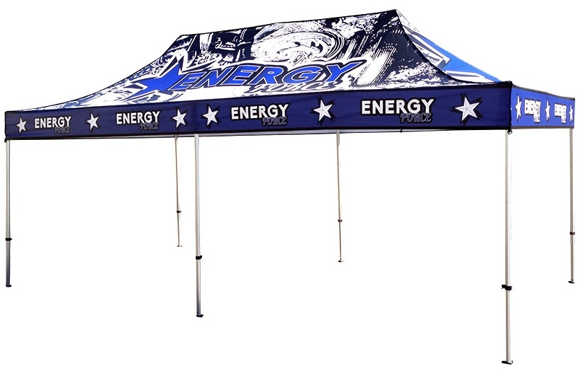20ft Full Color Custom Printed Outdoor Tent