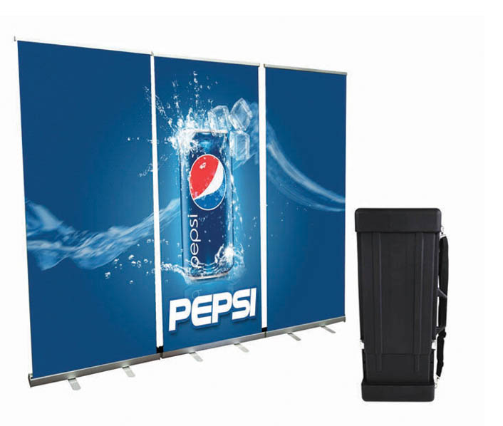 banner stand backwall