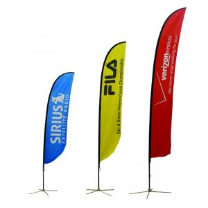 printed outdoor flag